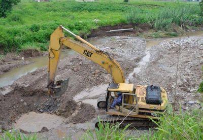 Repararon el acueducto roto en Palpalá
