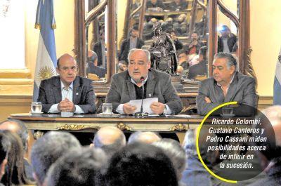 Cassani y Canteros quieren candidato del consenso e insisten en postularse