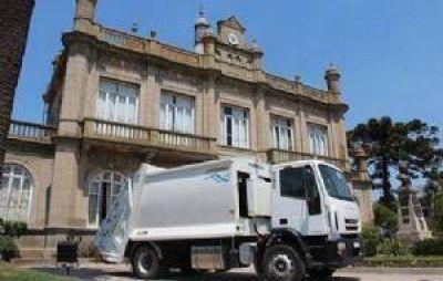 Nuevo camión recolector compactador de residuos