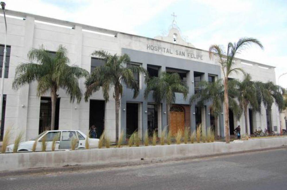 El hospital San Felipe tendrá un presupuesto 25 % superior al de 2016