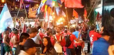 Los guardavidas de la Unión se manifestaron en el centro