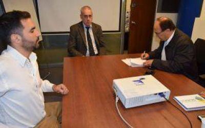 Saladillo firmó convenio con Provincia ART