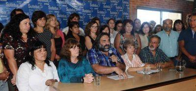 """""""Vidal se quedó con parte de nuestro salario"""", reclaman desde Suteba"""