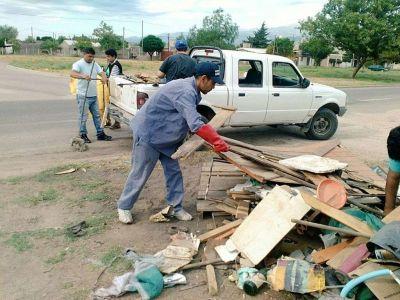 El gobierno intensifica tareas de limpieza y prevención para controlar la población de mosquitos