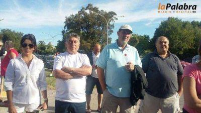 Bari y funcionarios municipales participaron de la marcha por la sanidad del río Negro