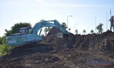 Comenzó la reconstrucción del pluvial de avenida Romero