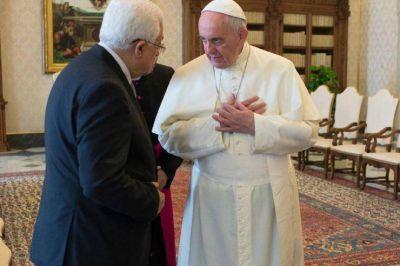El Papa recibe a Mahmoud Abbas este sábado en el Vaticano