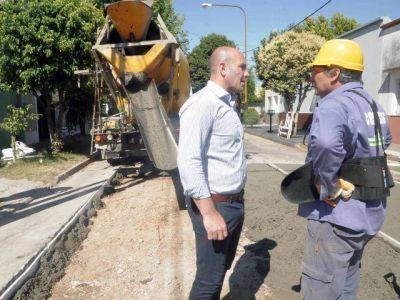 Obras en accesos y avenidas