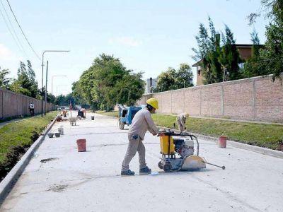 Obras de asfalto y desagües