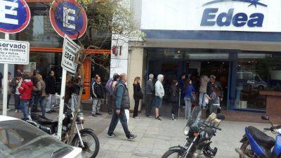 """Luz y Fuerza denuncia que """"Edea tiene cautivos a usuarios y trabajadores"""""""