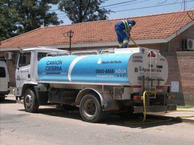 Plan de contingencias para provisión de agua en el Norte