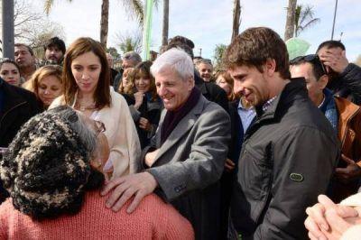 Después de una semana más que áspera, Vidal y el massismo se muesran otra vez juntos
