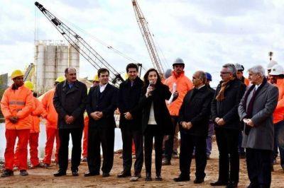 Vidal hace pie en zona norte y se muestra con intendentes massistas