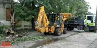 El Municipio se mostró activo en la resolución de problemas por el temporal