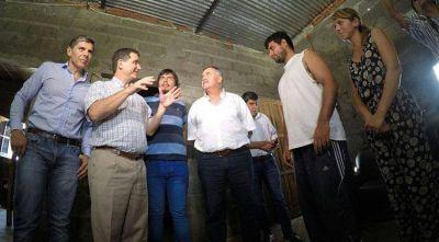 Continúa la reconstrucción de las viviendas de Villa Quinteros
