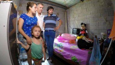 Jaldo visito a los afectados por temporal de la semana pasada