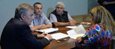 El intendente mantuvo una reunión de trabajo con referentes de ABSA