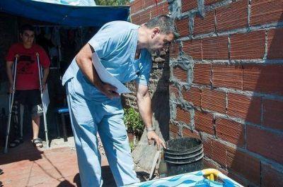 Morón refuerza los operativos de descacharreo para prevenir el dengue