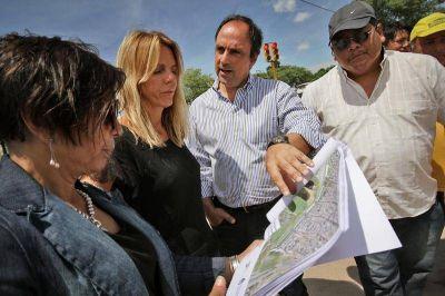 Nación gira $ 706 millones para obras en barrios de la ciudad