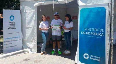 La ciudad de Tafí del Valle se sumó al Operativo Verano de Salud