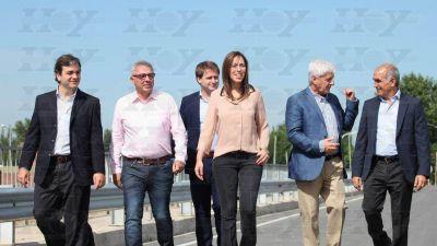 Con la obra pública, Vidal les manda señales a los intendentes