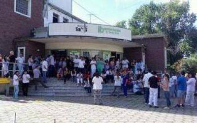 Protesta de trabajadores del Instituto Biológico de la Provincia