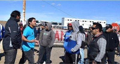 Construcción: Tensión, armas de fuego y enfrentamientos en Caleta Olivia