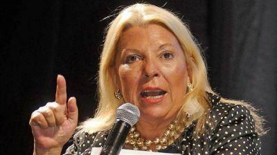 Odebrecht: Carrió pedirá a la Justicia que investigue el giro por US$ 600.000 que recibió el jefe de la AFI