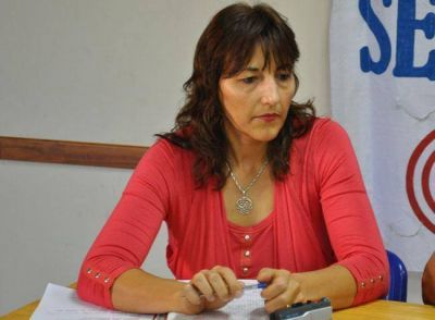 Una gremialista, Mabel García, iría como funcionaria a Educación