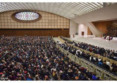 Catequesis del Papa: confiar y esperar en Dios