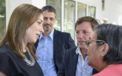 Vidal visitó la sede del Registro Provincial de las Personas en San Miguel