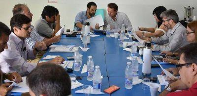 Katopodis encabezó la primera reunión de gabinete del año
