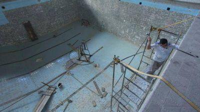 Avanza la reconstrucción del Centro Cultural y Deportivo I. L. Peretz