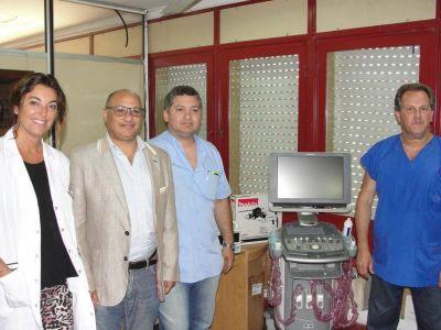Ampliaron el Servicio de Diagnóstico por Imágenes del Hospital de Balcarce