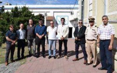 Destacan los estándares de seguridad en Puerto Quequén