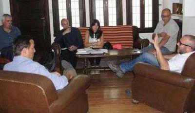 Agua: El intendente y funcionario provincial mantuvieron una reunión