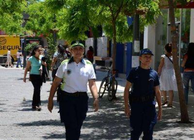 Mantendrán todo el año la mayor presencia policial en las calles