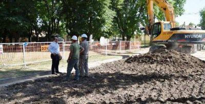 Comenzaron las obras en el Barrio 96 Viviendas