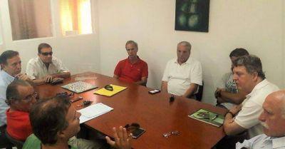 Rizzi y Cuesta se reunieron con responsables de los Balnearios