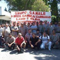 Trabajadores de Canale siguen reclamando respuestas