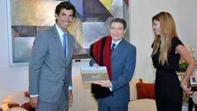 Urtubey recibió al embajador de Francia en la Argentina