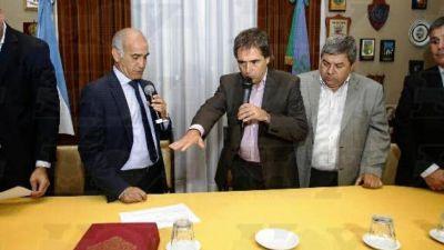 Asumió Lorenzino como defensor del Pueblo bonaerense