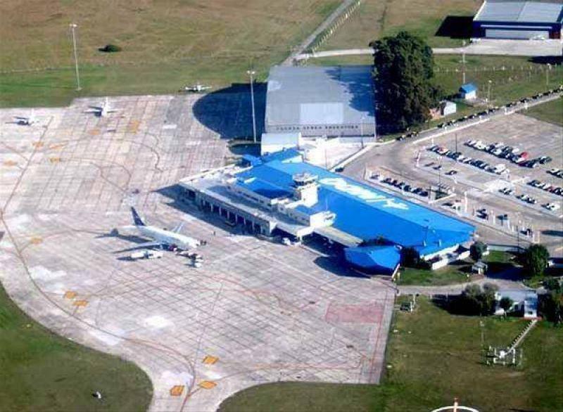 Cierran durante un mes el aeropuerto de Mar del Plata