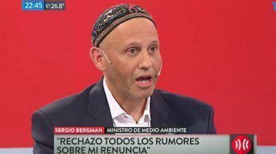 Sergio Bergman rechazó los rumores sobre su renuncia:
