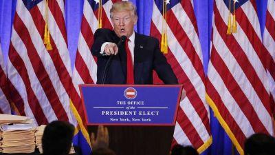 Trump reconoció que Rusia estuvo detrás del hackeo a la campaña presidencial