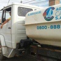 El reclamo por la falta de agua potable no cesa