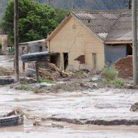 El 70 % de Volcán resultó arrasado por el aluvión