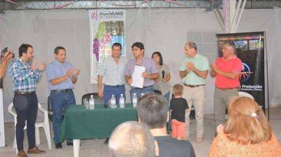 Asumió nuevo jefe de Agencia de Desarrollo de La Banda