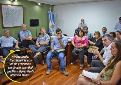 Intendentes acercaron inquietudes en reunión con funcionario nacional