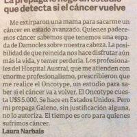 Reclamo para que Galeno habilite un importante estudio para detectar cáncer